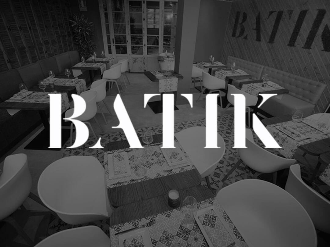 Batik Restaurante, club y hostel Bartolomé Consultores TPV Málaga cajas registradoras