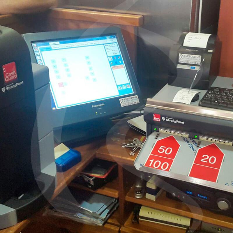 TPV Panasonic y Cashguard Pikoteo Bartolome Consultores TPV