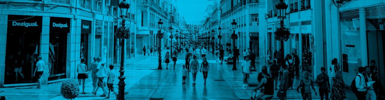 Calle Larios TPV Málaga Bartolomé Consultores