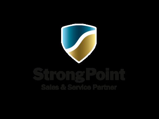 Logo StrongPoint Proveedor CashGuard